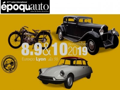 Epoqu'Auto, le salon international autos & motos anciennes 2019